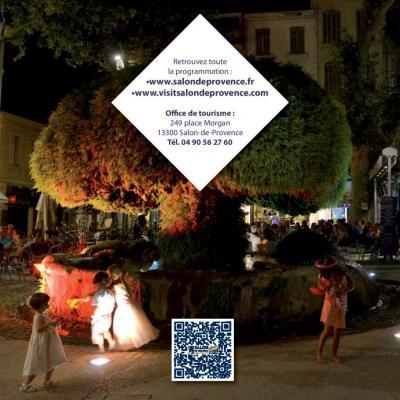 Retrouvez le programme complet de l'été 2016 à Salon de Provence