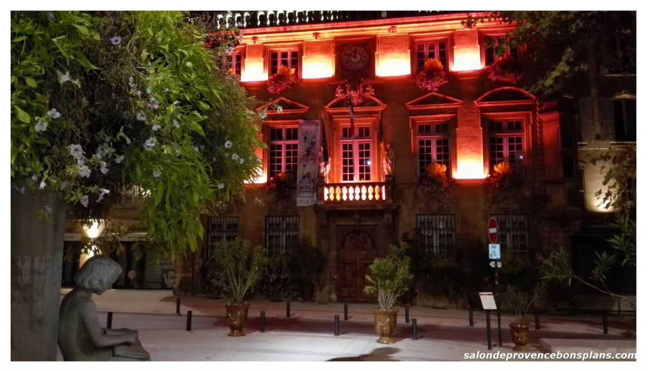 Hotel de ville salon de provence for Mairie salon