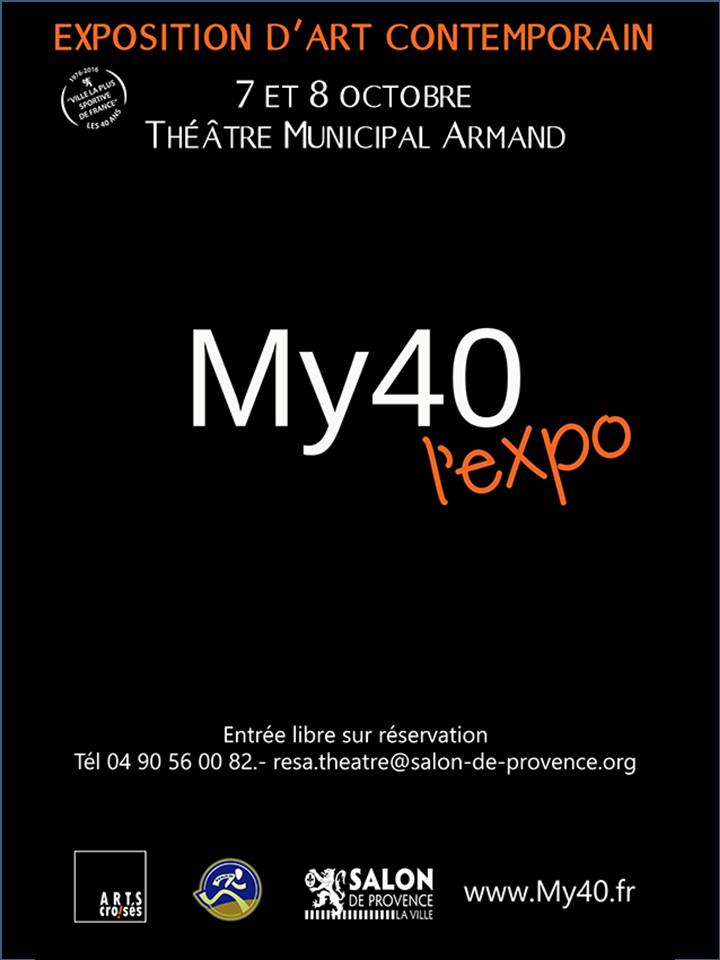 Affiche my40 l expo