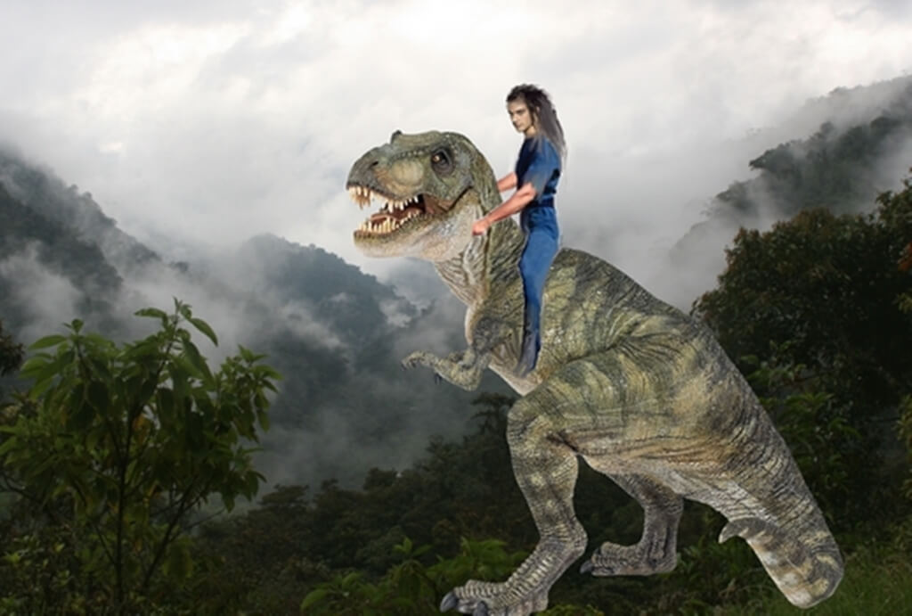 Balade en dinosaure 1