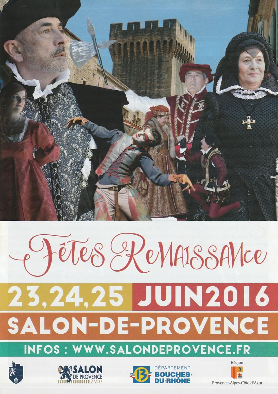 F tes renaissance reconstitution historique salon for Association l arche salon de provence