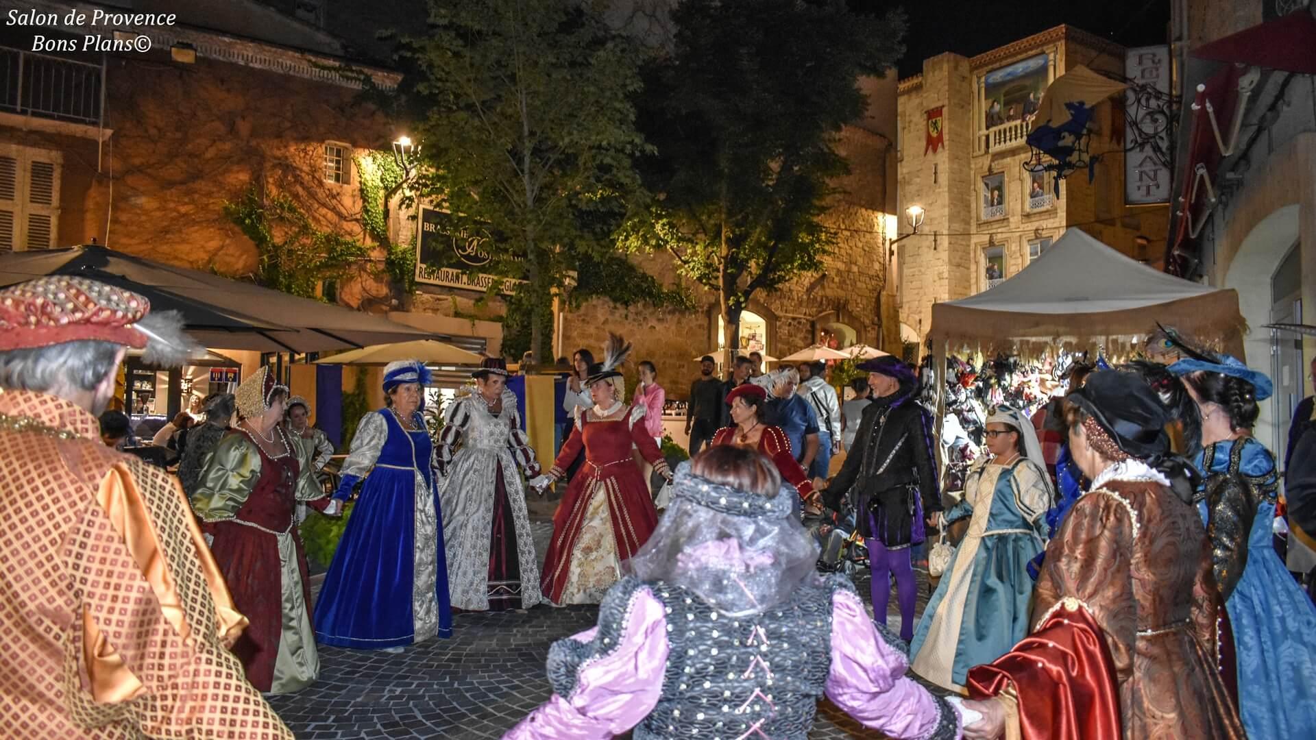 Fetes renaissance salon de provence