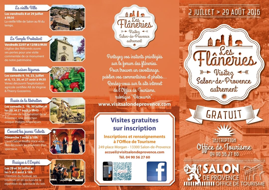 Flaneries de salon de provence