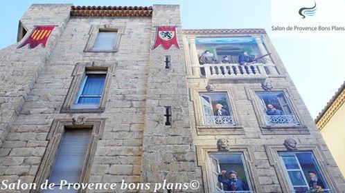 La nouvelle fresque de salon de provence for Incendie salon de provence