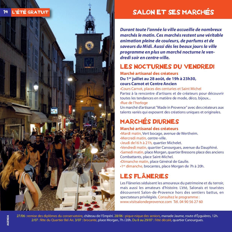 Les nocturnes du vendredi salon de provence - Rue kennedy salon de provence ...