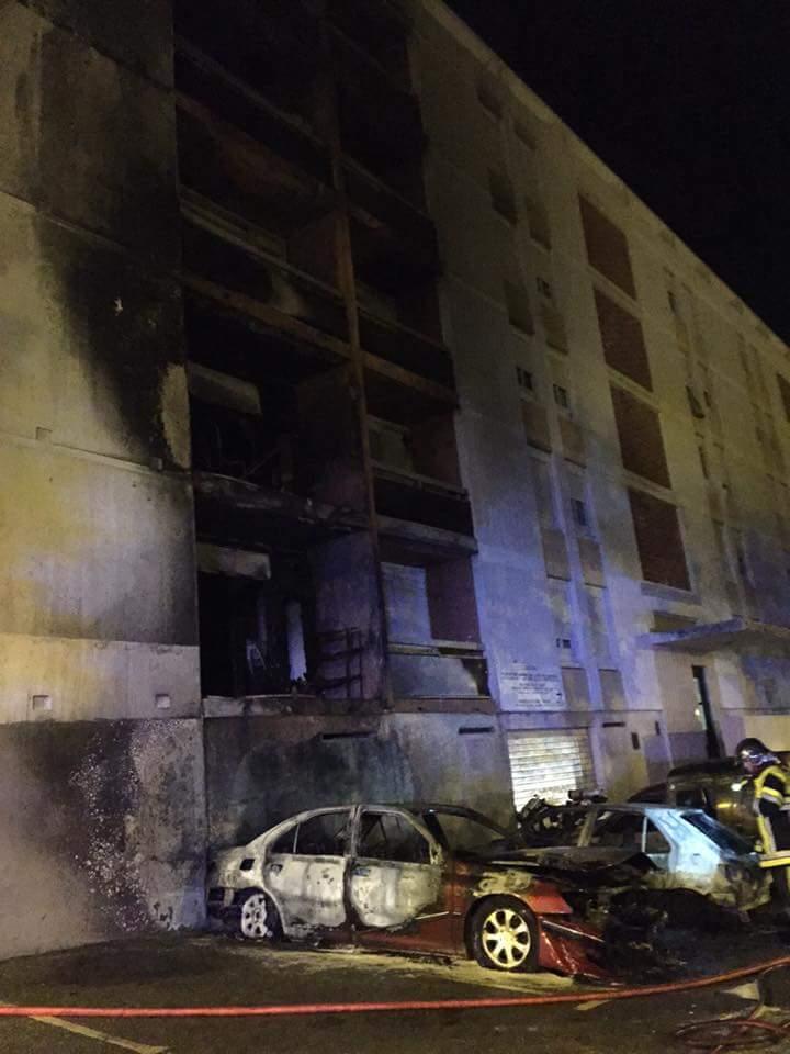 Incendie a salon de provence aux canourgues