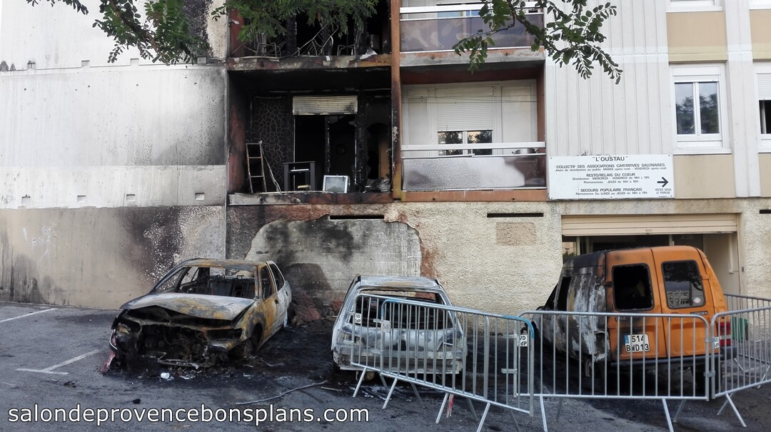 Wonderful Incendie Aux Canourgues Salon De Provence 3