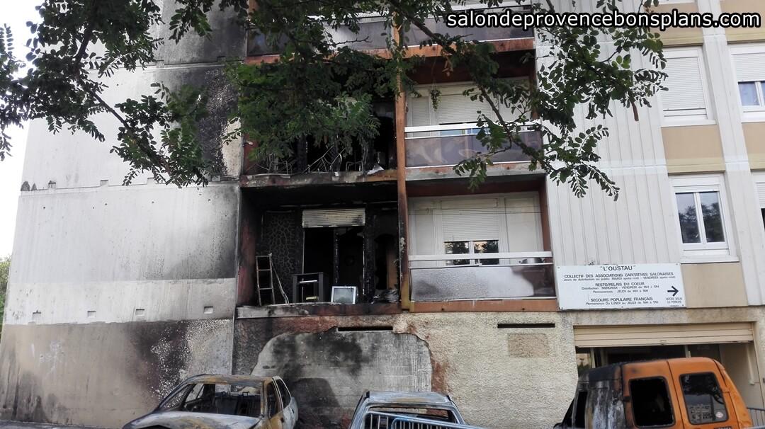 Incendie aux canourgues salon de provence 4