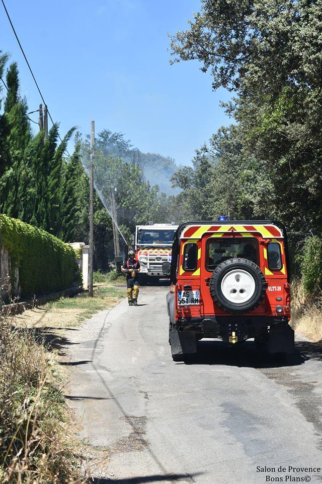 Incendie salon de provence le 15 juillet 2017 for Feu salon de provence