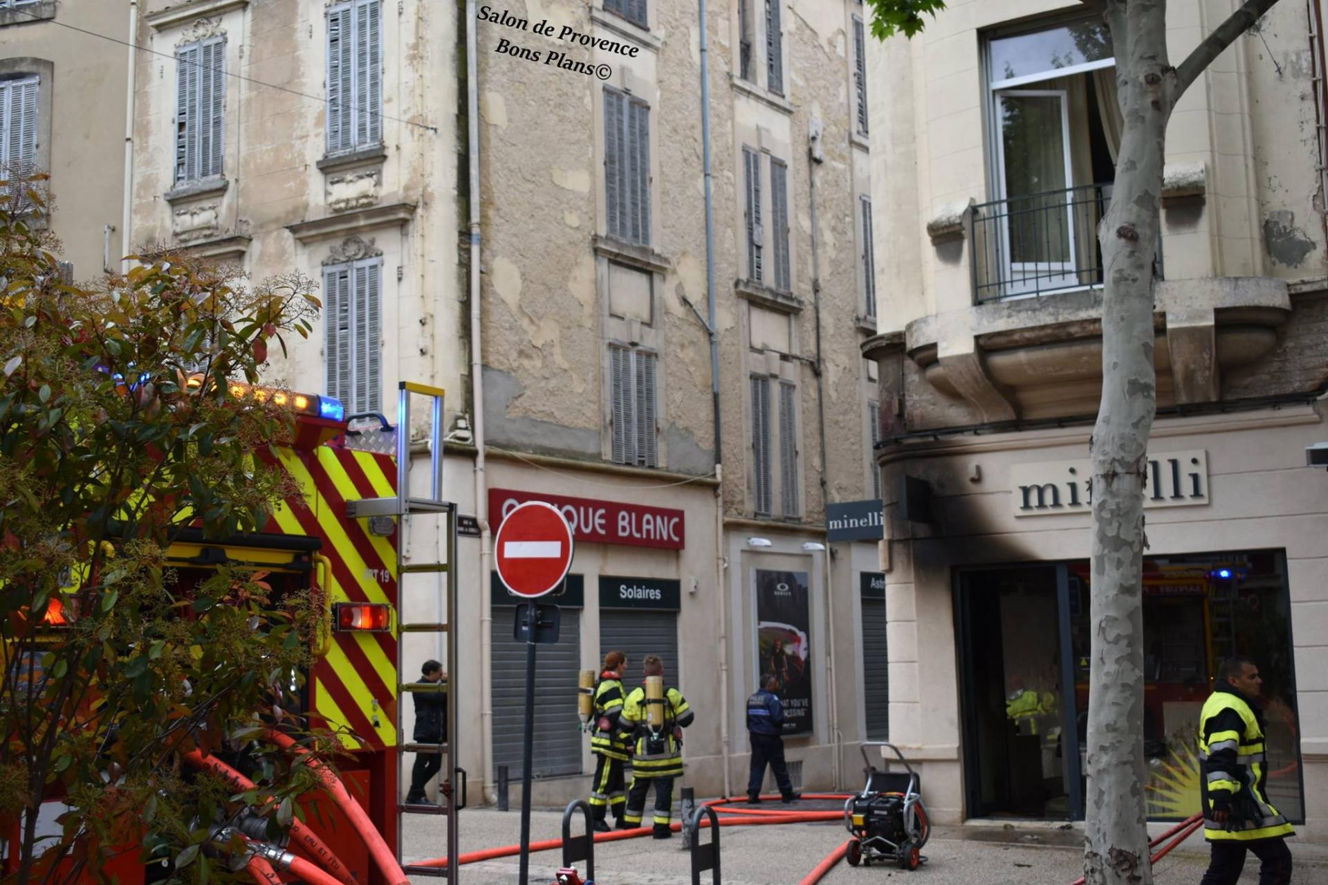 Bravo et merci aux pompiers de salon de provence for Presto pizza salon de provence