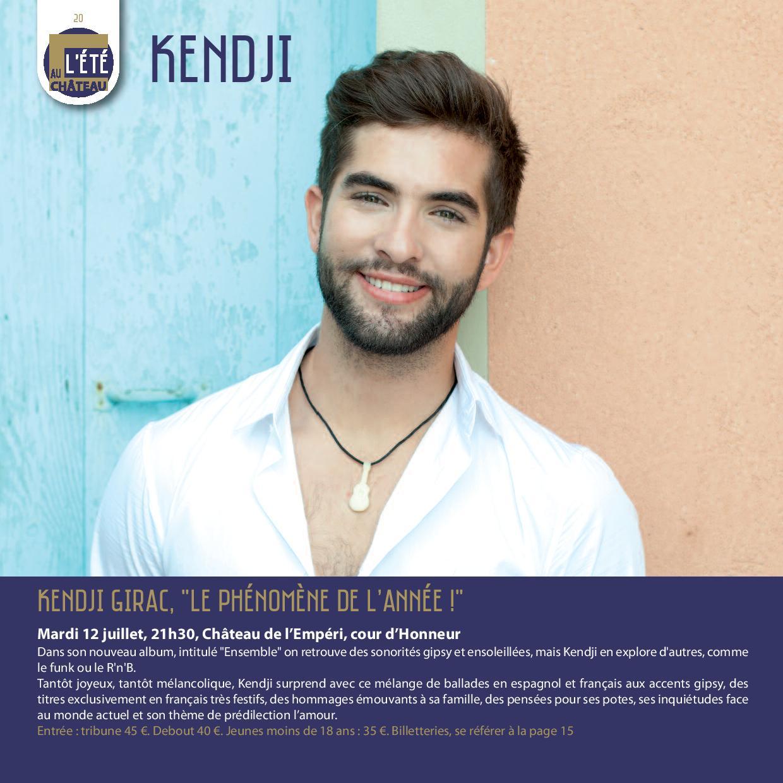 Kendji girac salon de provence
