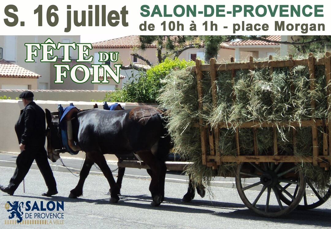 La f te du foin salon de provence for Presto pizza salon de provence