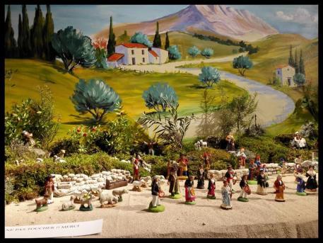 La foire aux santons a salon de provence 2