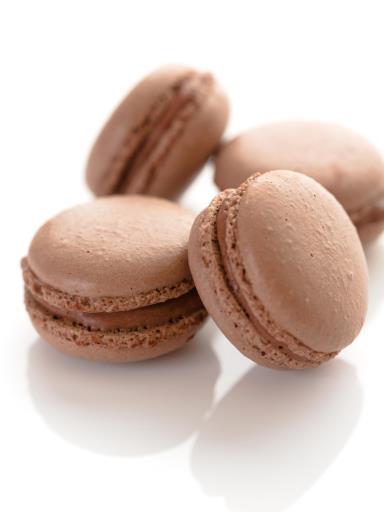 Macaron chocolat blanc