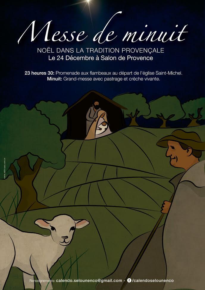 Messe de minuit salon de provence