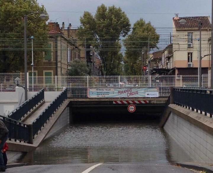 Miramas inondation