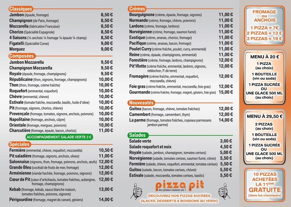 Pizza pit salon de provence for Mike pizza salon de provence