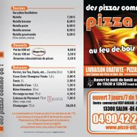 Pizza pit flyer