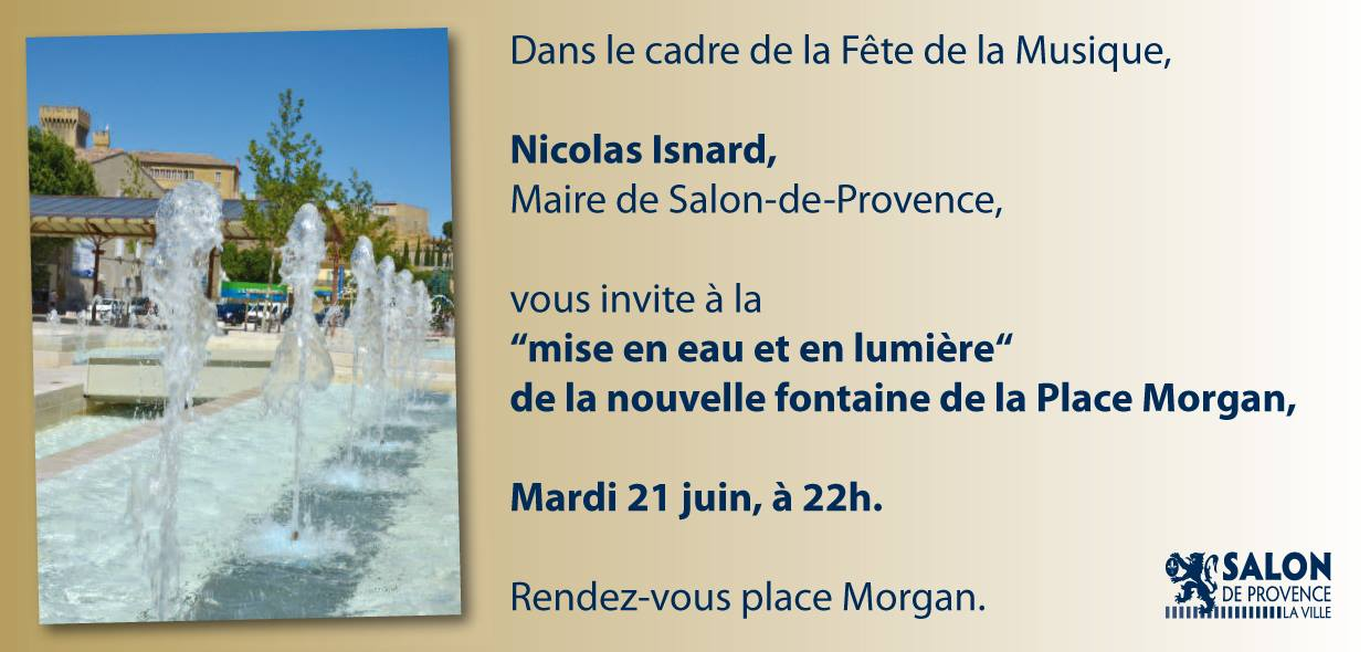 Place morgan salon de provence