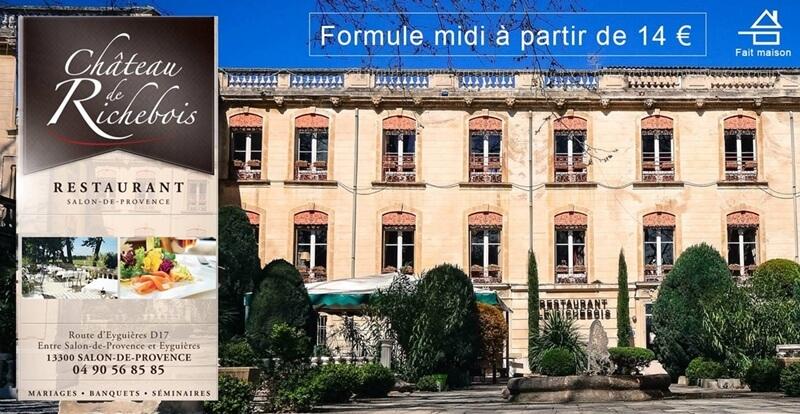 Restaurant richebois salon de provence