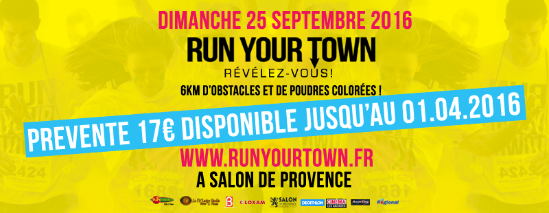 Run your town salon de provence