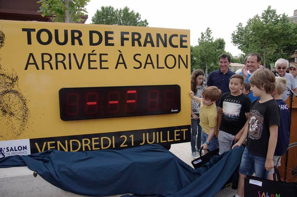 Tour de france salon
