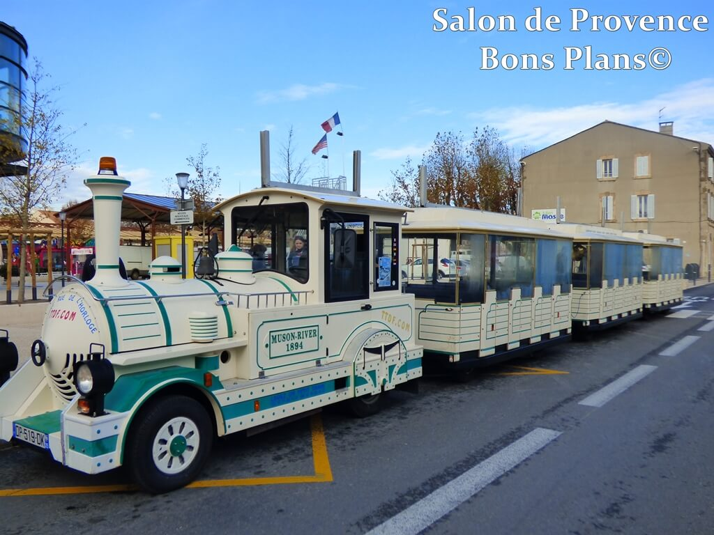 Train de noel salon de provence
