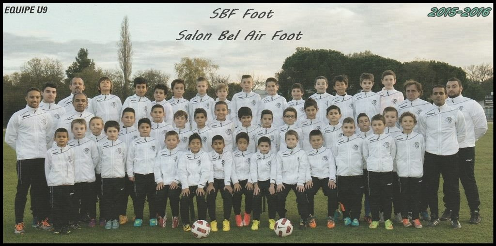 U9 sbf foot salon de provence