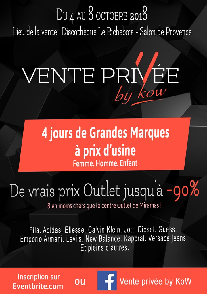 Vente privee by kow