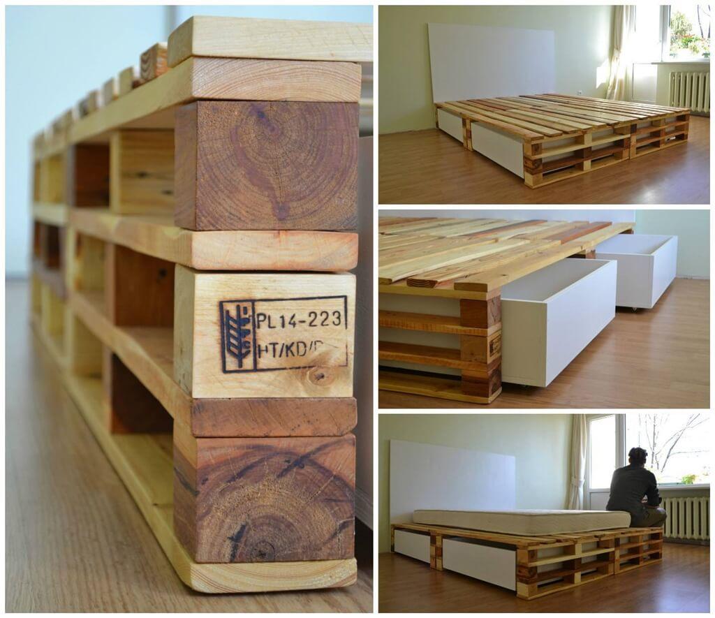 Idée Déco Avec Des Palettes idées de déco avec des palettes en bois