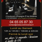 Restaurant miramas le village 3