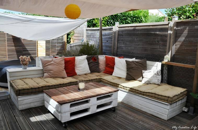 Emejing Salon De Jardin En Palette Facebook Pictures - House Design ...